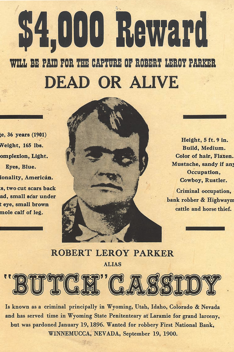Butch-Cassidy-wanted-poster