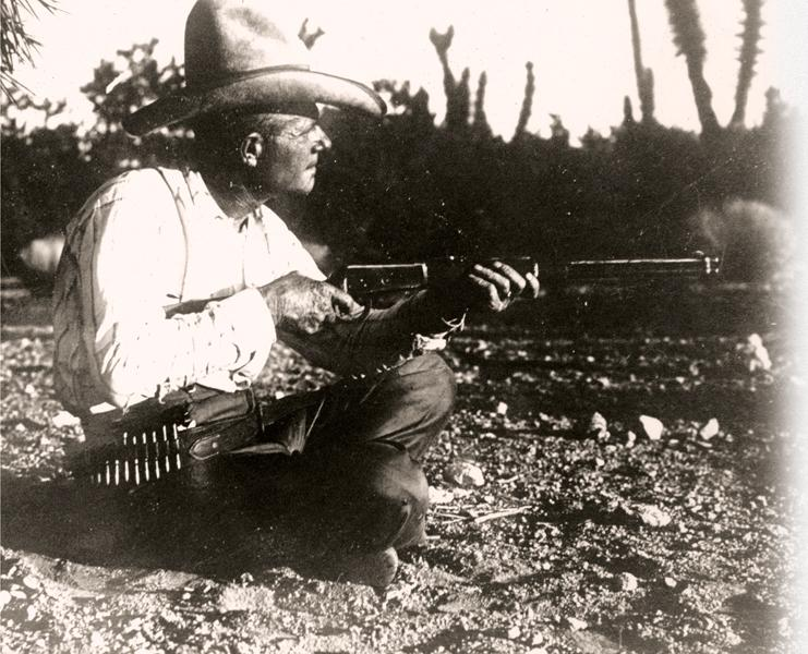 Nobody was going to sneak up on ol' Tap Duncan on the Diamond Bar Ranch, tucked away as it was in a remote corner of Arizona's Mohave County