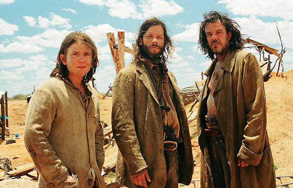 The brothers Burns—Mike, Charlie, Arthur—a dying breed of outlaws