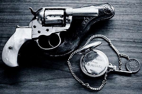 firearms_john-wesley-hardin_colt-lightning_elgin-pocket-watch
