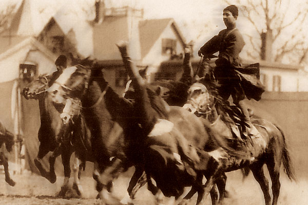 Tracing the real story behind Buffalo Bill's trick riders.