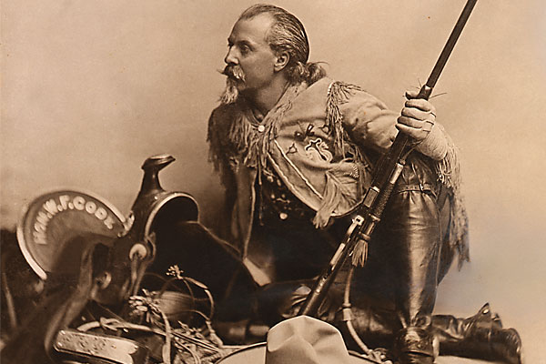 Buffalo Bill Cody—a legend in his own time,and in ours.
