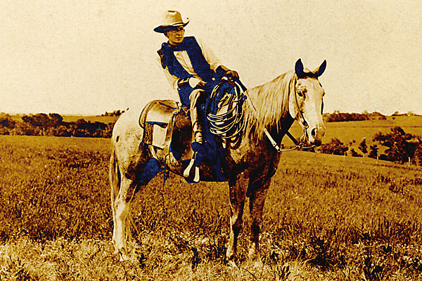 Cowboy Erwin E. Smith captured the disappearing West on film.