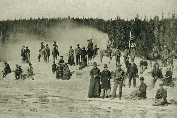 Chief Joseph kidnaps tourists in Yellowstone Park.