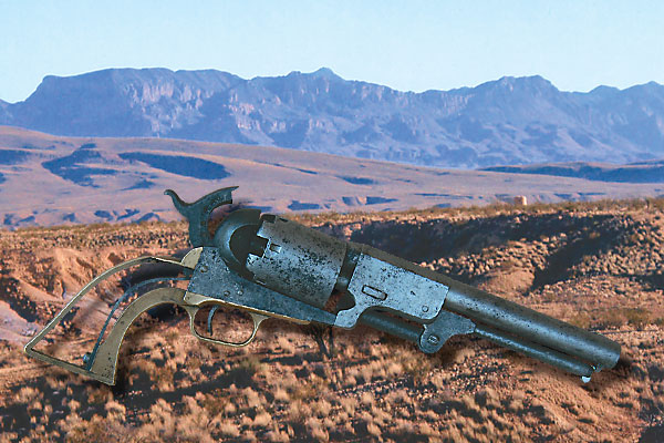 Discovering a frontier-era dragoon, while out riding fence.