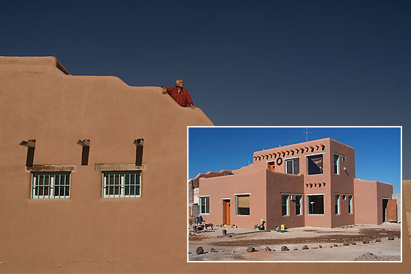 Jack Anderson's homage to the Pueblos at Paquime.