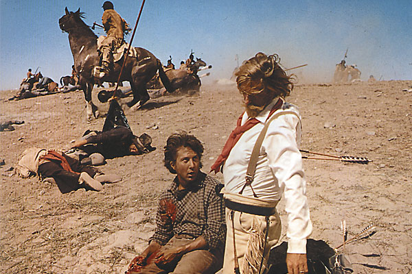 """Arthur Penn discusses the first """"revisionist"""" Western and Bonnie & Clyde's link to the genre."""