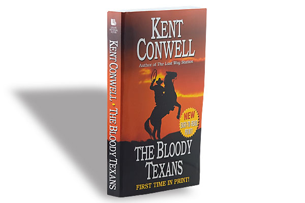 Kent Conwell, Leisure Books, $6.99, Softcover.