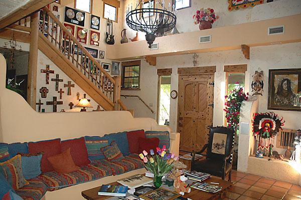 Near Montezuma's Castle lies a peaceful hacienda in Camp Verde, Arizona.