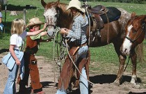 """<span class=""""entry-title-primary"""">The Perfect Pair</span> <span class=""""entry-subtitle"""">Finding the right ranch horse on your riding vacations.</span>"""