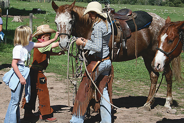 Finding the right ranch horse on your riding vacations.