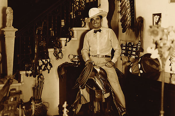 Long before Rodeo Drive, Tom Mix resided in a glamourous estate in Beverly Hills, California.