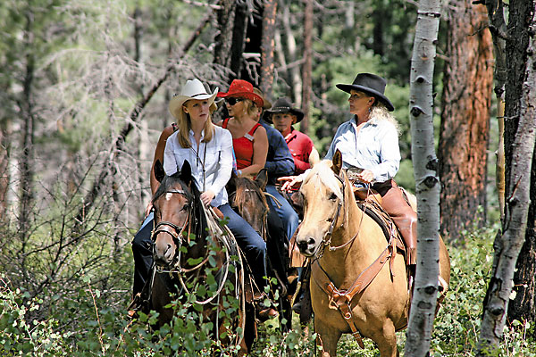 Ranchers invite us onto their ranches to share their way of life.