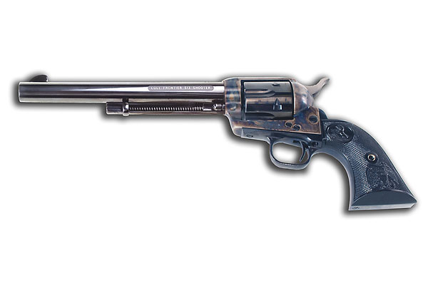 """Colt reintroduces its 19th-century """"Frontier Six Shooter."""""""