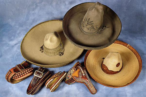 Mexican vaquero collectibles stood out at High Noon's Western Americana auction.
