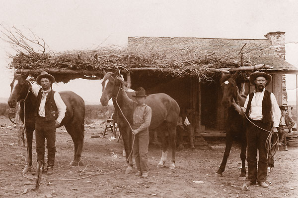 A pictorial look at the almost-forgotten Texas cattle king of the 24 Ranch.