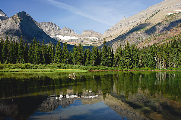 Glacier National Park—loved by both John Muir and C.M. Russell.