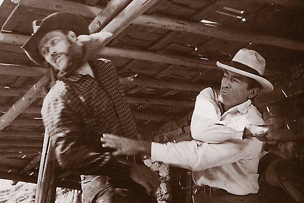 Spilling the blood on Old West cinema fistfights.