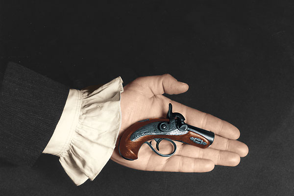 The power behind the miniature Deringer pistol that took out a U.S. president.