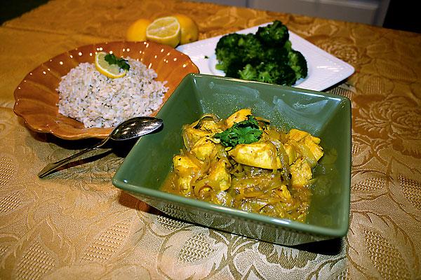 Curry shocks Victorian taste buds.