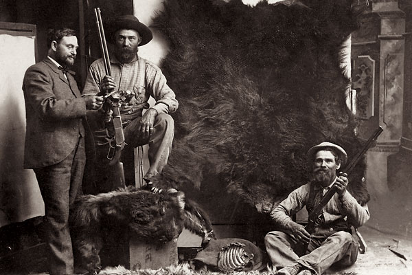 Old West photos showing firearms being worn or brandished can tell much about the subject and the period.