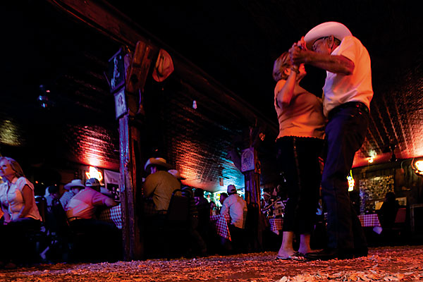 A down-home kind of place where you can always dance the two step.