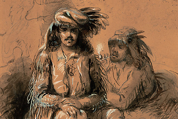 Following the artist 200 years after his birth, from Independence, Missouri, to Daniel, Wyoming.