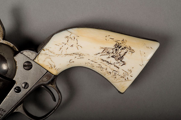 Documenting the cowboy artist's most treasured sidearm.