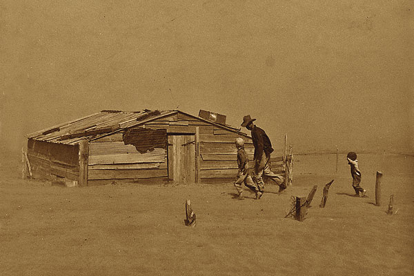 How the power of wind and dust inspired fear on the frontier.