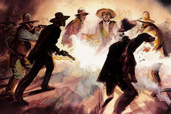 Elfego Baca vs. The Cowboys