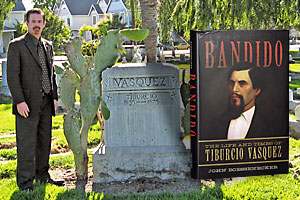 best_nonfiction_writer_john_boessenecker_bandido_life_times_tiburcio_vasquez