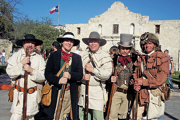 How—and why—a young man brings a legendary Alamo figure to life, 175 years after the battle.