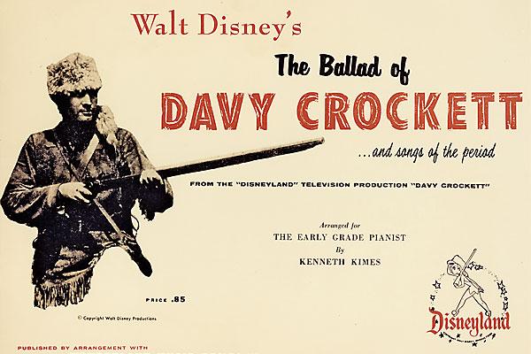 How Davy Crockett invented Folk music.