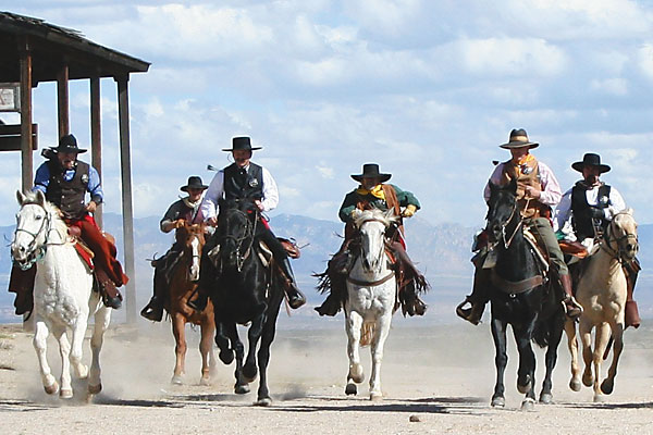 Re-enacting Earp's Vendetta Ride and other great historical events.
