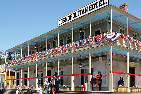 A 19th-century gathering place revivifies Old Town San Diego.