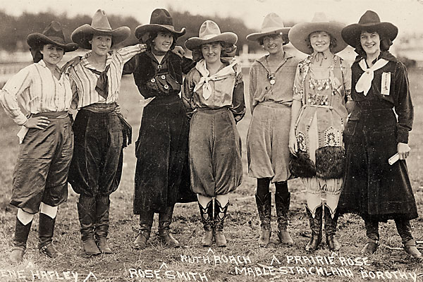Skirts And Spurs True West Magazine