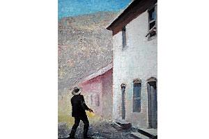 fine_art_painter_gary_ernest_smith_old_west_legends_billy_the_kid