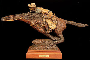 sculptor_gib_singleton_santa_fe_new_mexico_pony_express