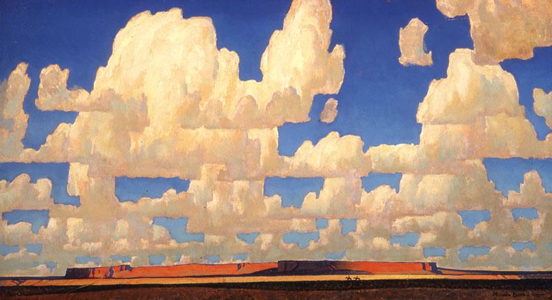 3. Cloud World, Maynard Dixon (1875-1946), 1925 Oil on Canvas; Estimated Value: $4 million to $6 million.– Private Collection, Massachusetts –
