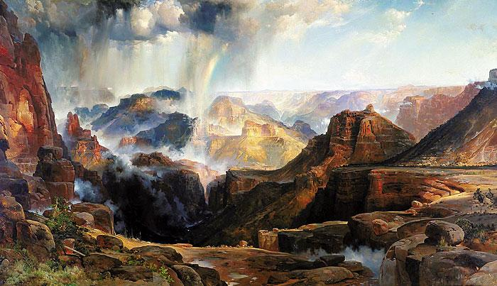 Arizona's Top 10 Paintings1. The Chasm of the Colorado, Thomas Moran (1837-1926), 1873-74 Oil on Canvas; Abe's Estimate: $100 million.– Smithsonian American Art Museum –