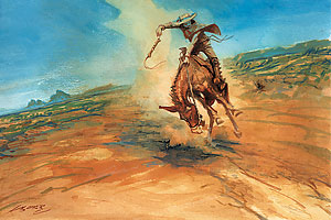 mickey_free_bob_boze_bell_western_history_indian_painting