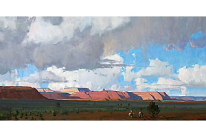 g_russell_case_painting_artist_painted_cliffs_desert_scenes
