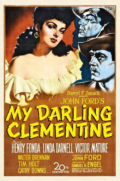 – All My Darling Clementine images courtesy 20th Century-Fox–