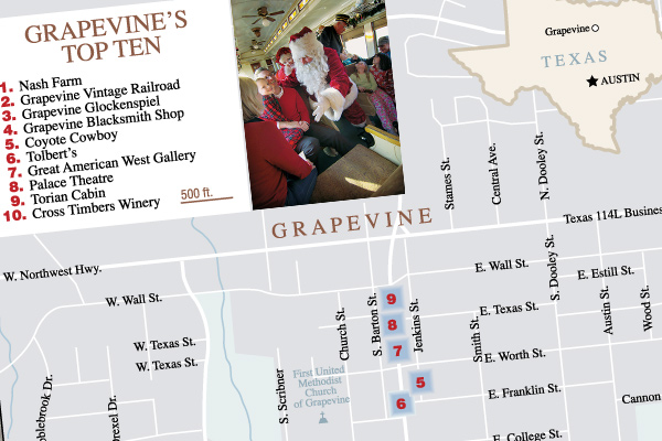 grapevine-texas-best-western-town