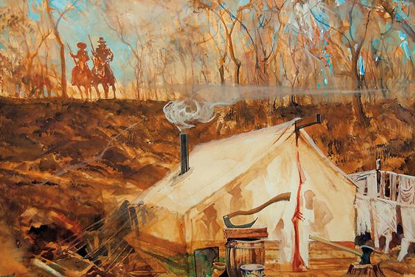 frank-dalton_dave-smith_bob-boze-bell_western-artist