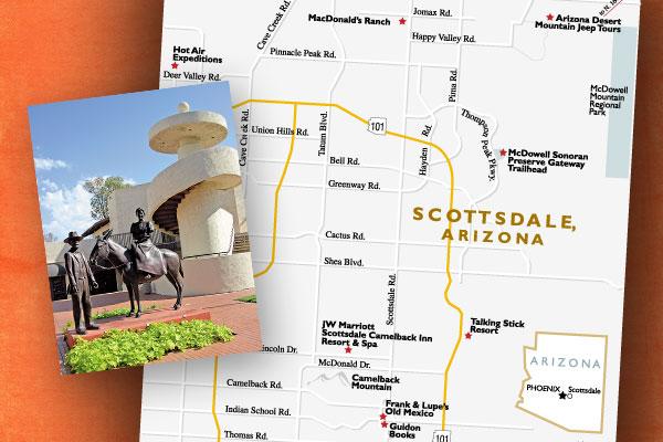 scottsdale-arizona-map