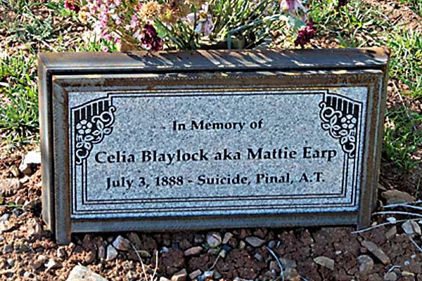 matte-earp-grave-stone-pinal-cemetary