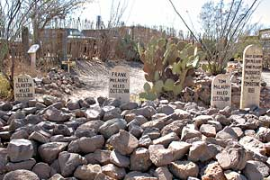 tombstone gunfighter graves