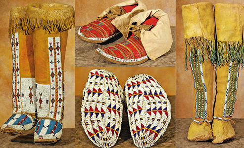 Southern-Cheyenne_Kiowas_Northern-Plains-beaded-moccasins