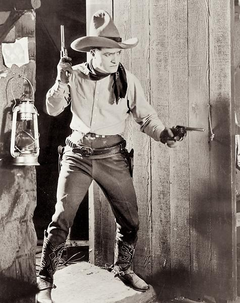 Tom MixThis six million dollar man made his astronomical fortune during his 26-year career in film, starring in nearly 300 movies, all but nine silent and many of them Westerns (including The Untamed, still shown here, one of nine films the actor made in 1920).– courtesy Fox film corporation –